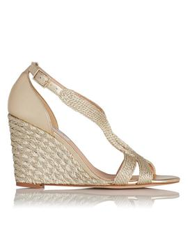 Mali Gold Wedges by L.K.Bennett
