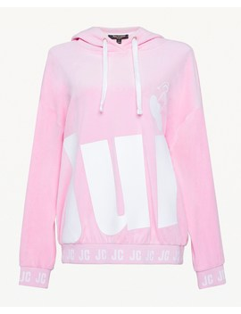 Juicy Cherry Velour Hooded Pullover by Juicy Couture