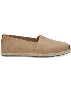 Clare V. Honey Leather Women's Classics by Toms