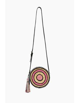 Straw Circle Crossbody by Rebecca Minkoff