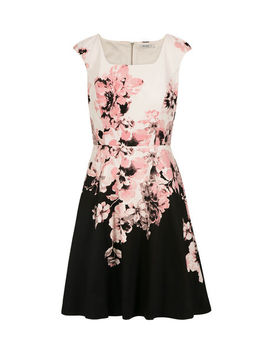Extended Sleeve Floral Print Dress by Ricki's