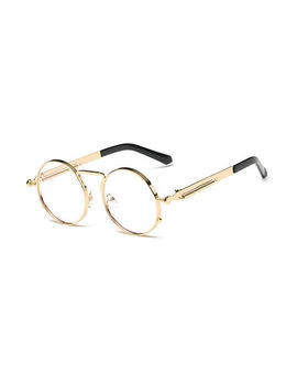 Sherlock Glasses (Clear Gold) by Roial
