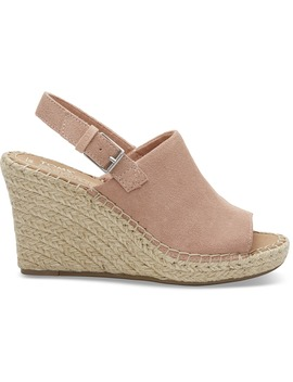 Bloom Suede Women's Monica Wedges by Toms
