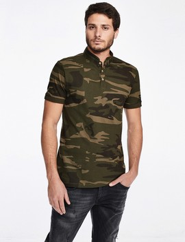camouflage-polo-shirt by castro