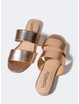 Double Strap Sandals by Zooshoo