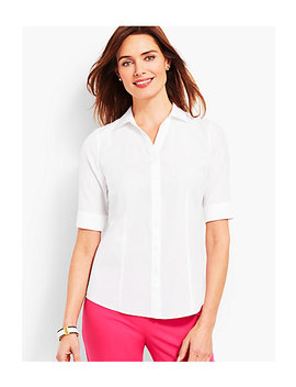 The Perfect Shirt   Solid by Talbots