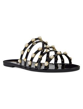 Cariana Jelly Slide Sandals by Nine West