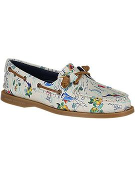 Women's Authentic Original Map Boat Shoe by Sperry