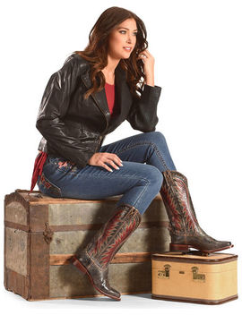 Ariat Black Vaquera Cowgirl Boots   Square Toe by Ariat