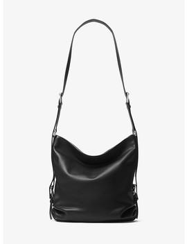 Naomi Extra Large Leather Shoulder Sack by Michael Kors Collection