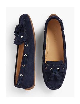 Everson Driving Moccasins   Suede by Talbots