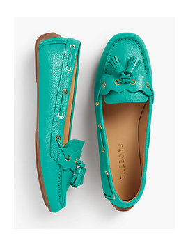Everson Driving Moccasins   Pebble Leather by Talbots