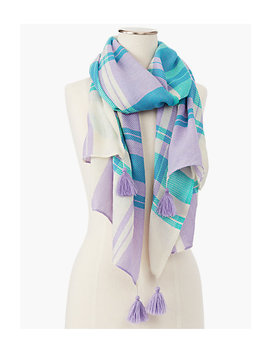 Fireside Plaid Scarf by Talbots