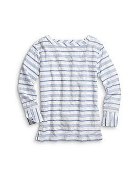 Women's Oversized Woven Pullover by Sperry