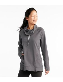 Soft Terry Funnelneck Tunic, Misses by L.L.Bean
