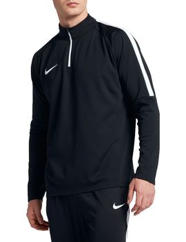 Nike Men's Dry Academy Drill Long Sleeve Quarter Zip Soccer Shirt by Nike