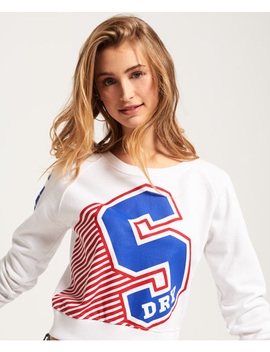 Big S Crew Neck Sweatshirt by Superdry