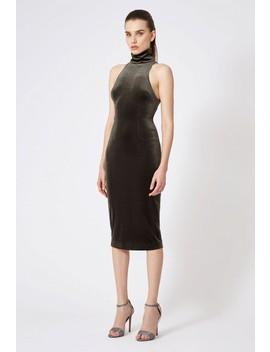 Hale Velvet Midi Dress by Aq/Aq