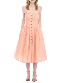 Perfect Poplin Midi Dress by Free People