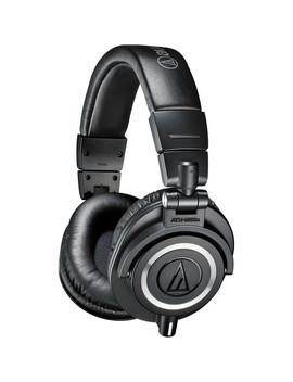 Ath M50x Monitor Headphones (Black) by Audio Technica