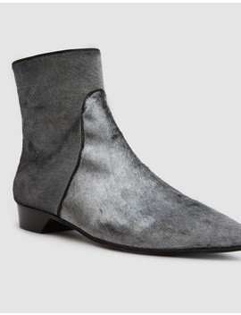 Pointy Ankle Zip Bootie On Low Heel by Need Supply Co.