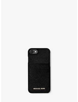 Saffiano Leather Phone Case For I Phone7/8 by Michael Michael Kors