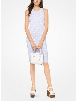 Floral Embellished Stretch Viscose Dress by Michael Michael Kors