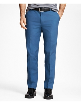 Milano Fit Supima® Cotton Poplin Stretch Chinos by Brooks Brothers