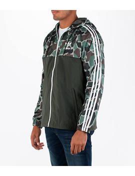 Men's Adidas Originals Camouflage Windbreaker Jacket by Adidas