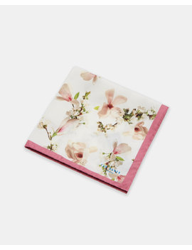 Harmony Silk Pocket Square by Ted Baker
