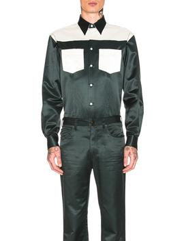 Diner Uniform Shirt by Calvin Klein 205 W39 Nyc