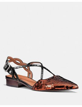 Flat With Sequins by Coach