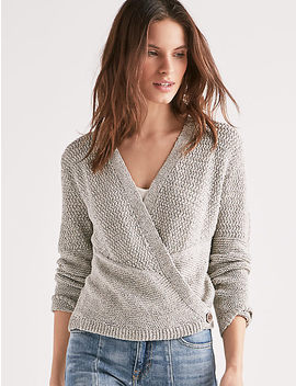 Button Wrap Cardigan by Lucky Brand
