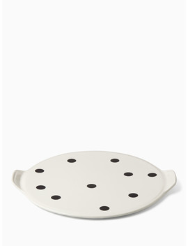 Any Way You Slice It Pizza Stone by Kate Spade