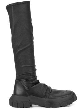 stretch-hiking-sock-boots by rick-owens