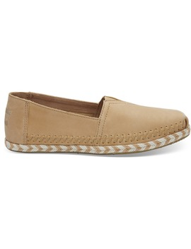 Honey Leather Women's Espadrilles by Toms