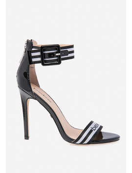 Gemmaa Logo Strap Sandals by Bebe