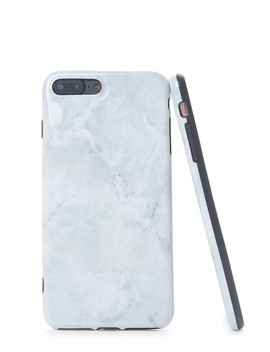 Simple Marble Pattern I Phone Case by Sheinside