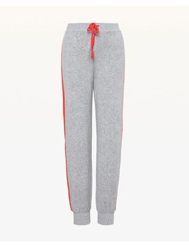 Side Stripe Microterry Zuma Pant by Juicy Couture