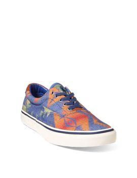 Thorton Twill Low Top Sneaker by Ralph Lauren