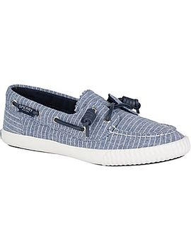 Women's Sayel Away Pin Stripe Sneaker by Sperry