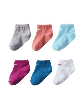 Nike Colorful Low Little Kids' Socks (6 Pair). Nike.Com by Nike