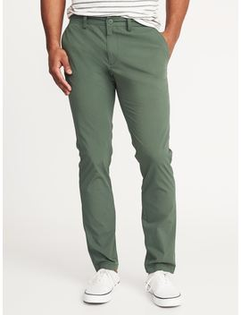 Slim Built In Flex Dry Quick Ultimate Khakis by Old Navy