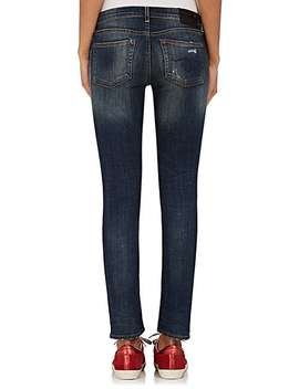 Kate Skinny Distressed Jeans by R13