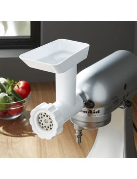 Kitchen Aid ® Stand Mixer Food Grinder Attachment by Crate&Barrel