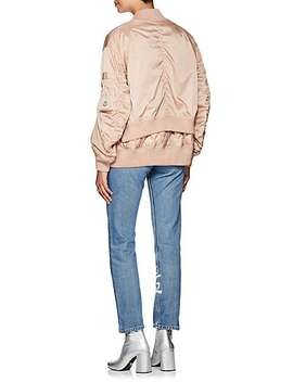Aralia Tech Twill Down Bomber Jacket by Moncler