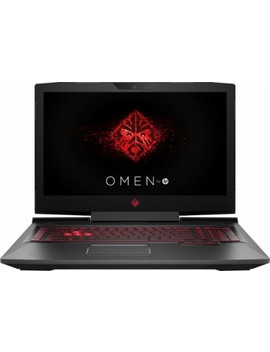"""Omen By Hp 17.3"""" Laptop   Intel Core I7   12 Gb Memory   Amd Radeon Rx 580   1 Tb Hard Drive   Hp Sandblasted Hairline Brushing And Carbon Fiber by Hp"""