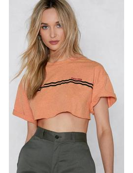 Fuck This Crop Tee by Nasty Gal