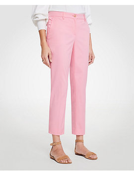 The Ruffle Crop Pant by Ann Taylor