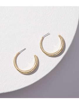 Open Hoop Earrings by Loft